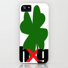 Shamrock_hug iPhone Case