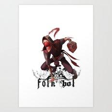 Folkbol T Art Print