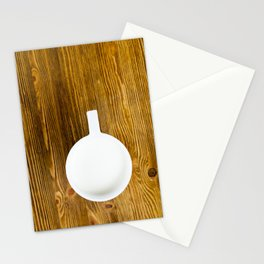 hot cup of milk Stationery Cards