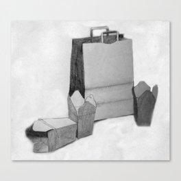 Bag & Box Canvas Print