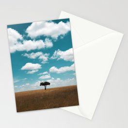 Masai Mara National Reserve III Stationery Cards