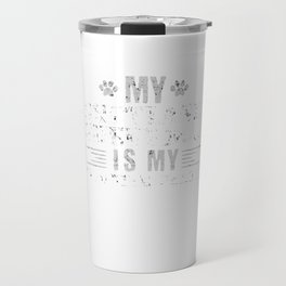 Shetland Sheepdog Is My Favorite Person Travel Mug
