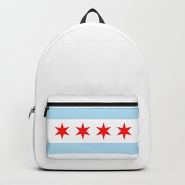 Chicago Flag Backpack