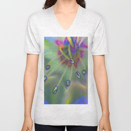 she's not there Unisex V-Neck
