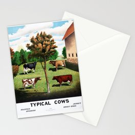 Typical Cows Stationery Cards