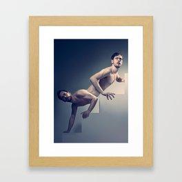 Stair Framed Art Print