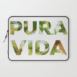 Pura Vida Costa Rica Palm Trees Laptop Sleeve