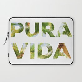 Pura Vida Costa Rica Palm Trees Laptop Sleeve