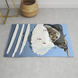 Powder Day Rug