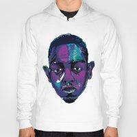 kendrick lamar Hoodies featuring Control - Kendrick Lamar by SmartyArt Chick