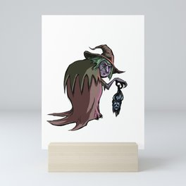The Witch who collects Mini Art Print