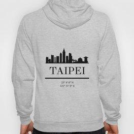 TAIPEI TAIWAN BLACK SILHOUETTE SKYLINE ART Hoody
