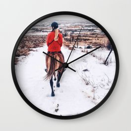 Follow tight Wall Clock