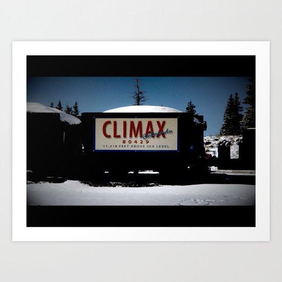 Climax CO.  Art Print