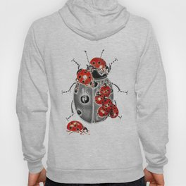 Siege of ladybugs Hoody