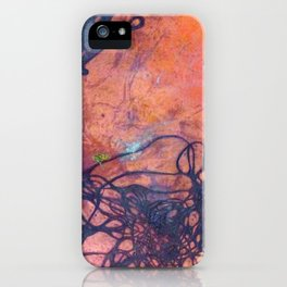 Copper Etching Plate 2 iPhone Case