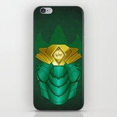 Green Iron Ranger iPhone & iPod Skin