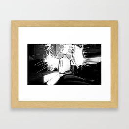 Rigged Milk Print 2 Framed Art Print