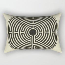 Labyrinth Rectangular Pillow
