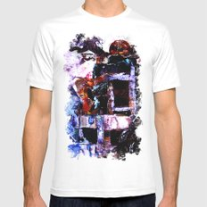 The Seated Woman MEDIUM Mens Fitted Tee White