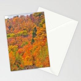 Railroad bridge Stationery Cards