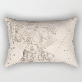 Johann Bayer - Uranometria / Measuring the Heavens (1661) - 04 Cepheus Rectangular Pillow