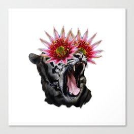 Shocked Tiger Canvas Print