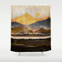Pure Wilderness at Dusk Shower Curtain