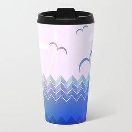 Summer Ocean Travel Mug