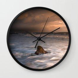 Storm Surge Wall Clock