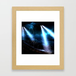 Watchers In The Water Framed Art Print
