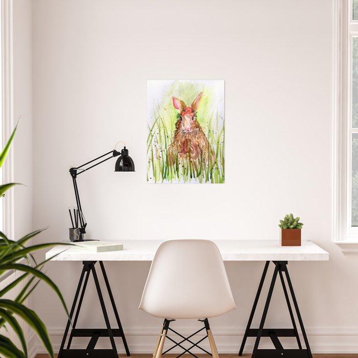 Rosie Rabbit Poster