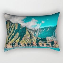 Na' Pali Coast, Kauai, Hawaii Rectangular Pillow