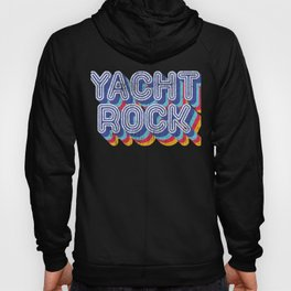 Psychedelic Fade Yacht Rock Party Boat Drinking graphic Hoody