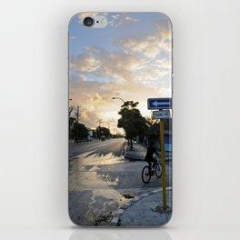 Biking the Streets of Varadero iPhone Skin