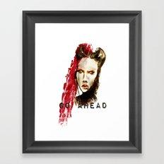 Go ahead Framed Art Print