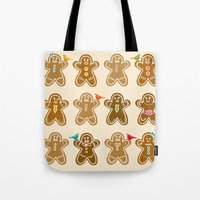 ginger Tote Bags featuring Ginger by Kakel