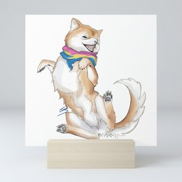 Pan Pride Pupper Mini Art Print