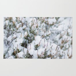White Winter Hymnal Rug