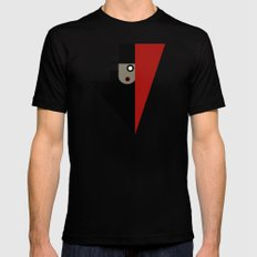 CONSPIRACY Black MEDIUM Mens Fitted Tee