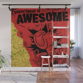 Everything Is Awesome Wall Mural