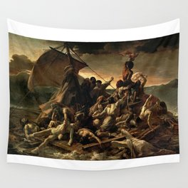 The Raft Of The Medusa - Theodore Gericault Wall Tapestry
