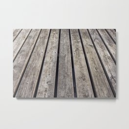Texture of wooden floor Metal Print