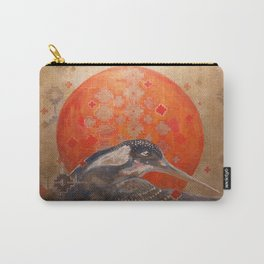 Visions of the Kingfisher Carry-All Pouch