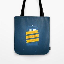 Stories Tote Bag