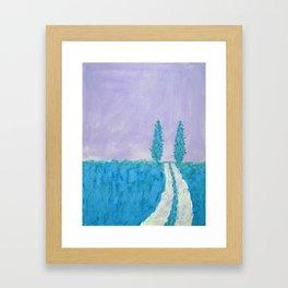 Open Road II Framed Art Print