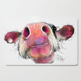 NoSeY CoW ' DuMPLiNG ' BY SHiRLeY MacARTHuR Cutting Board