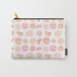 Paloma Grapefruit White Carry-All Pouch