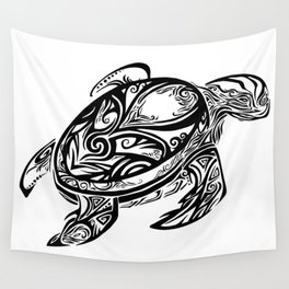 Tribal Turtle Wall Tapestry