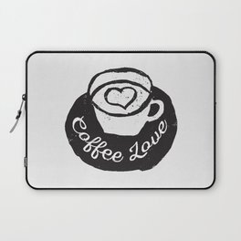 Coffee Love Laptop Sleeve